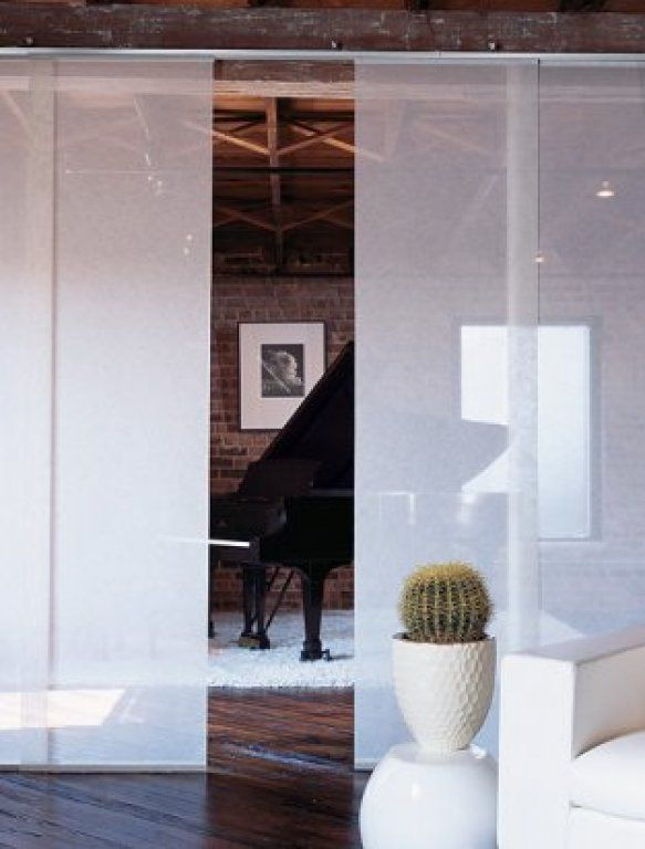 Sliding Panel Track Blinds: Panel Tracks Are Perfect For Separating Rooms When Needed