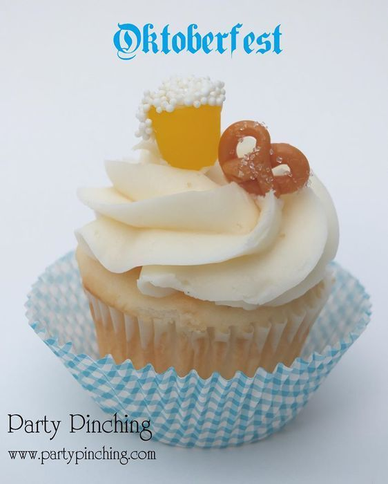 Oktoberfest dessert, easy Oktoberfest food ideas, Oktoberfest party ideas #octoberfestfood