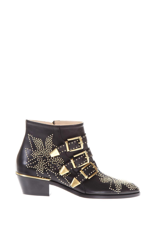 Chloé Susanna nappa sheepskin short boots kNXVts