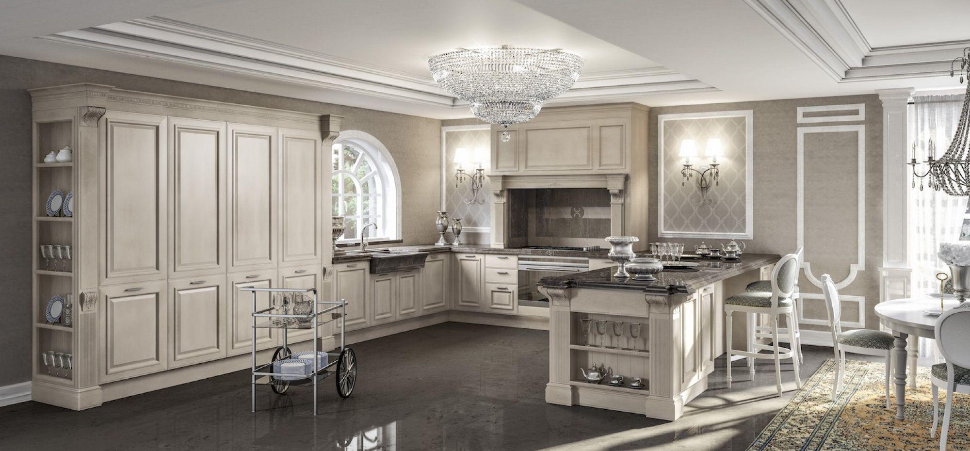 Grangala • Cucine classiche by Berloni | Kitchen and Bath ...