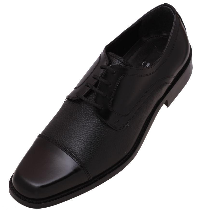 Zapatos de  Moda para  Hombre marca  Calzado  Evolución en color negro ef4f31877a8
