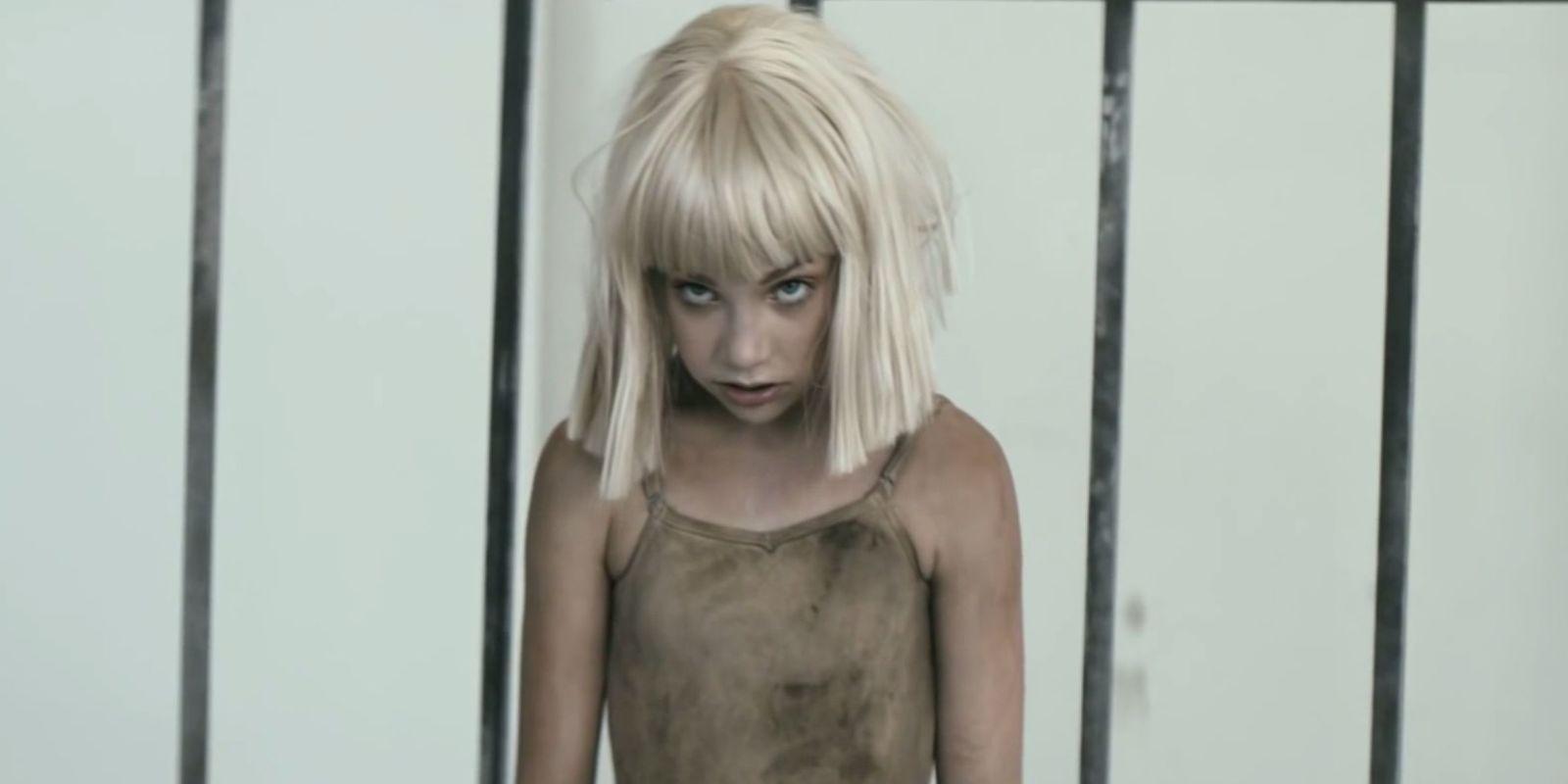 ziegler nude leotard Maddie Ziegler, Naked Shia LaBeouf Star in Sia's New Music Video