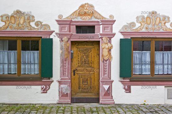 Trompe L Oeil Malerei lüftl malerei trompe l oeil stuckatur door gate