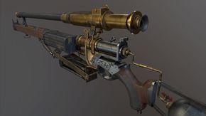 ArtStation - The Order 1886 Pneumatic Rifle Fanart, Kevin Neal