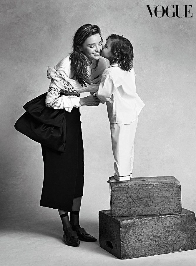 Miranda and Flynn's Sweet Vogue Photo Shoot Will M