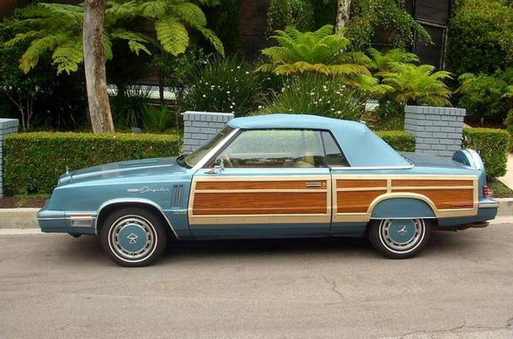 1985 Chrysler Lebaron Town Country Convertible Met Afbeeldingen