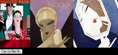 el pintor e ilustrador español Eduardo García Benito , español,  que durante veinte años,  fue el creador de las portadas Art Déco que más destacaron en la épocay el máximo exponente español de este estilo, trabajando tambien para Vanity Fair