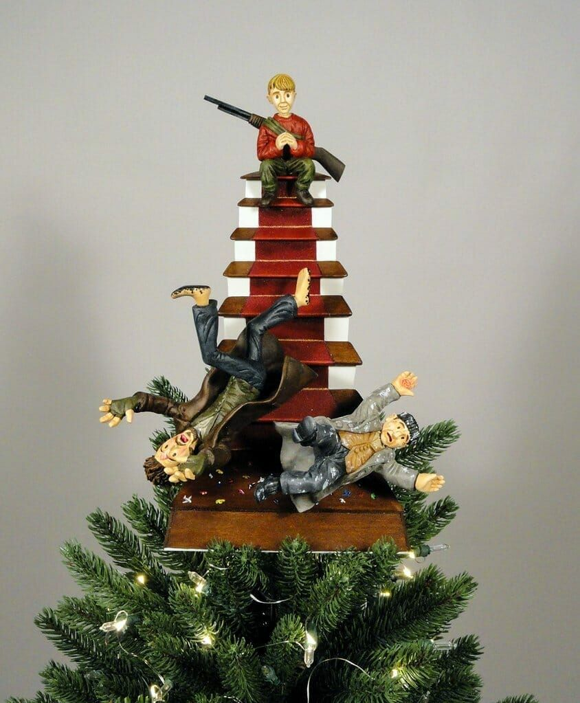 Level Up Your Geeky Christmas Tree With These Toppers In 2020 Christmas Tree Christmas Tree Toppers Home Alone Christmas