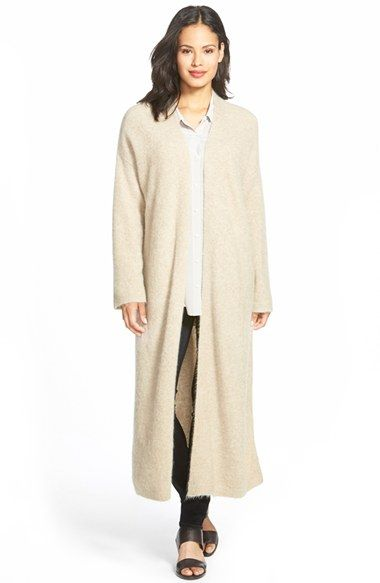 Free shipping and returns on Eileen Fisher Long Straight Open ...