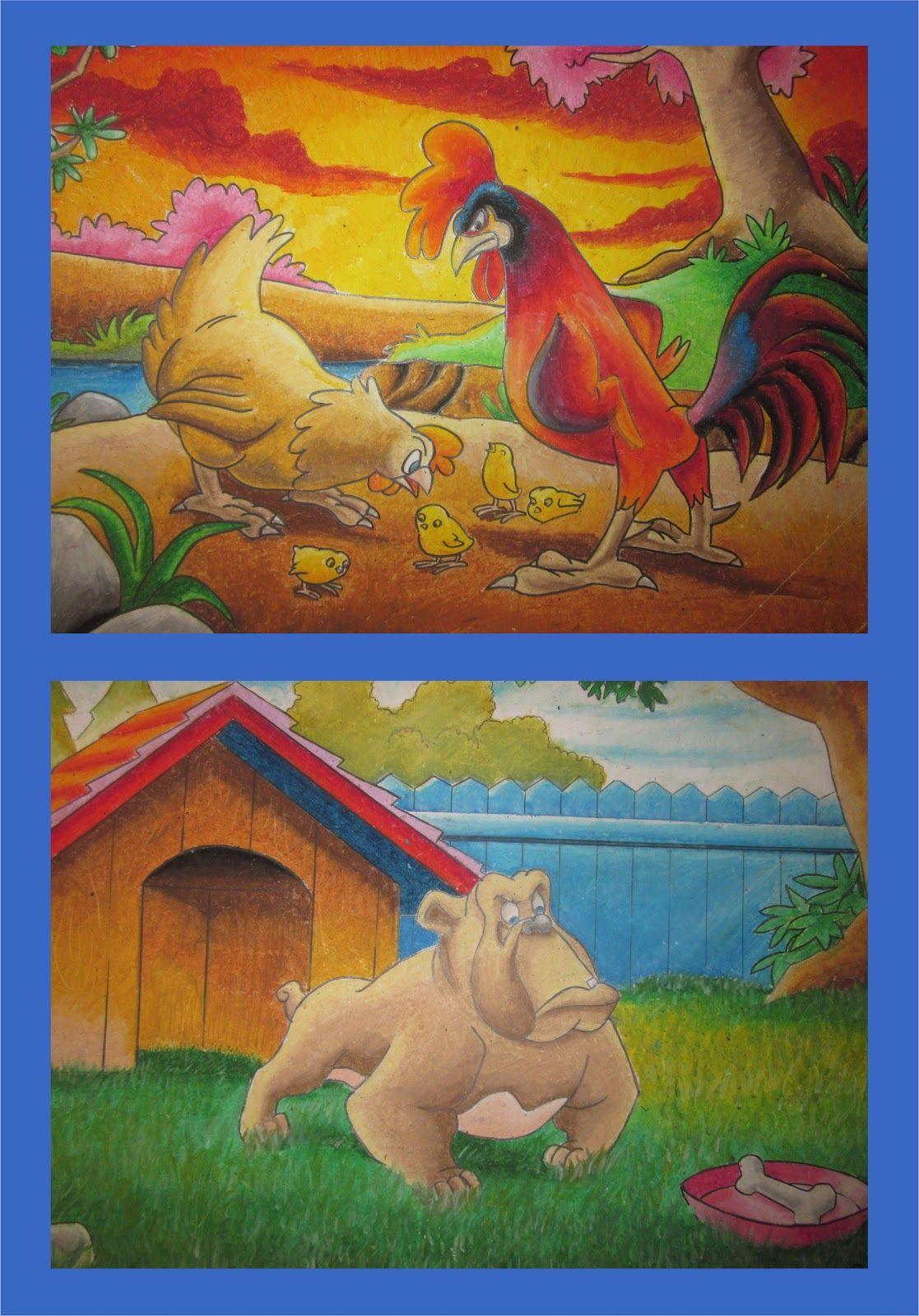 Blog Creative Crayon Style Mewarnai Gradasi Oil Pastel For Kids In