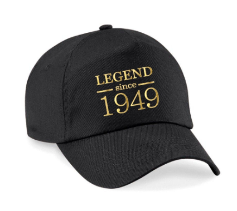 Legend Since 1949 70th Birthday Cap