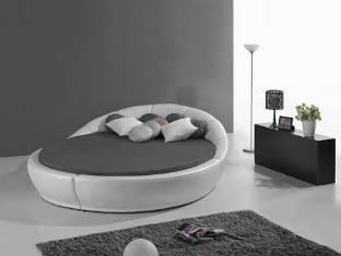 Lit rond + matelas - Florea chez http://www.items-france.com ...