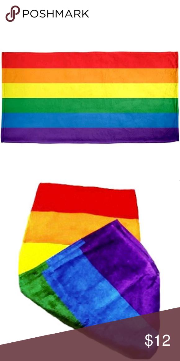 Standard Bath Towel Size Delectable Gay Pride Rainbow Beach Towel Boutique Decorating Design