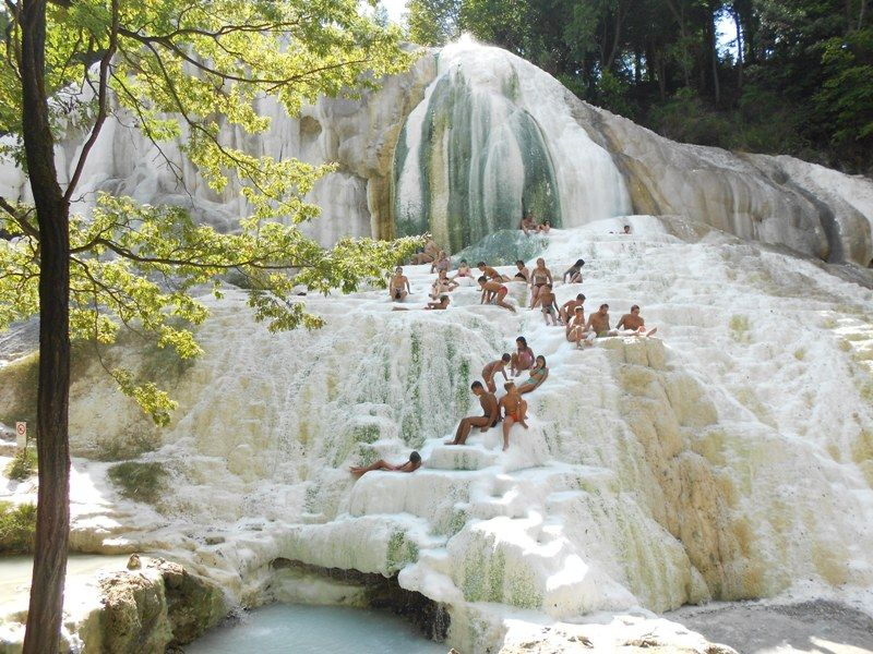 Bagni San Filippo Places to visit, Places, Water