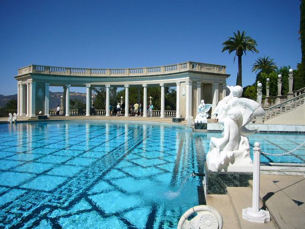 the neptune pool hearst castle california amazing swimming - World S Most Amazing Swimming Pools