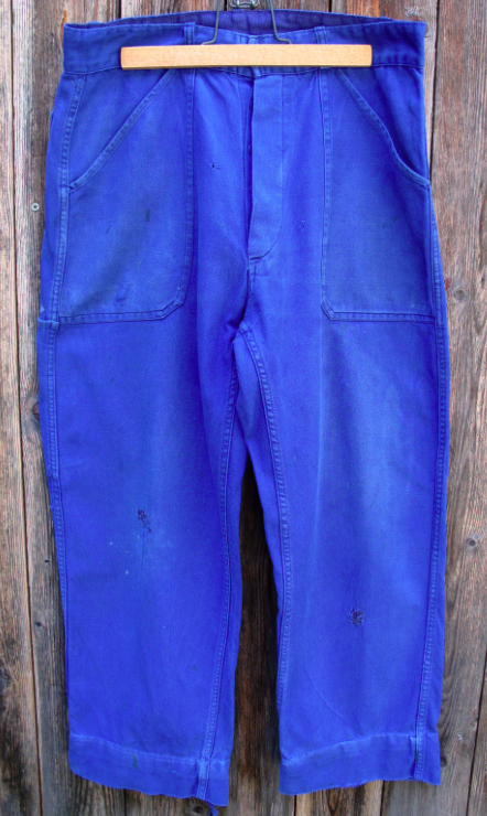 1950's French Workwear Pants.