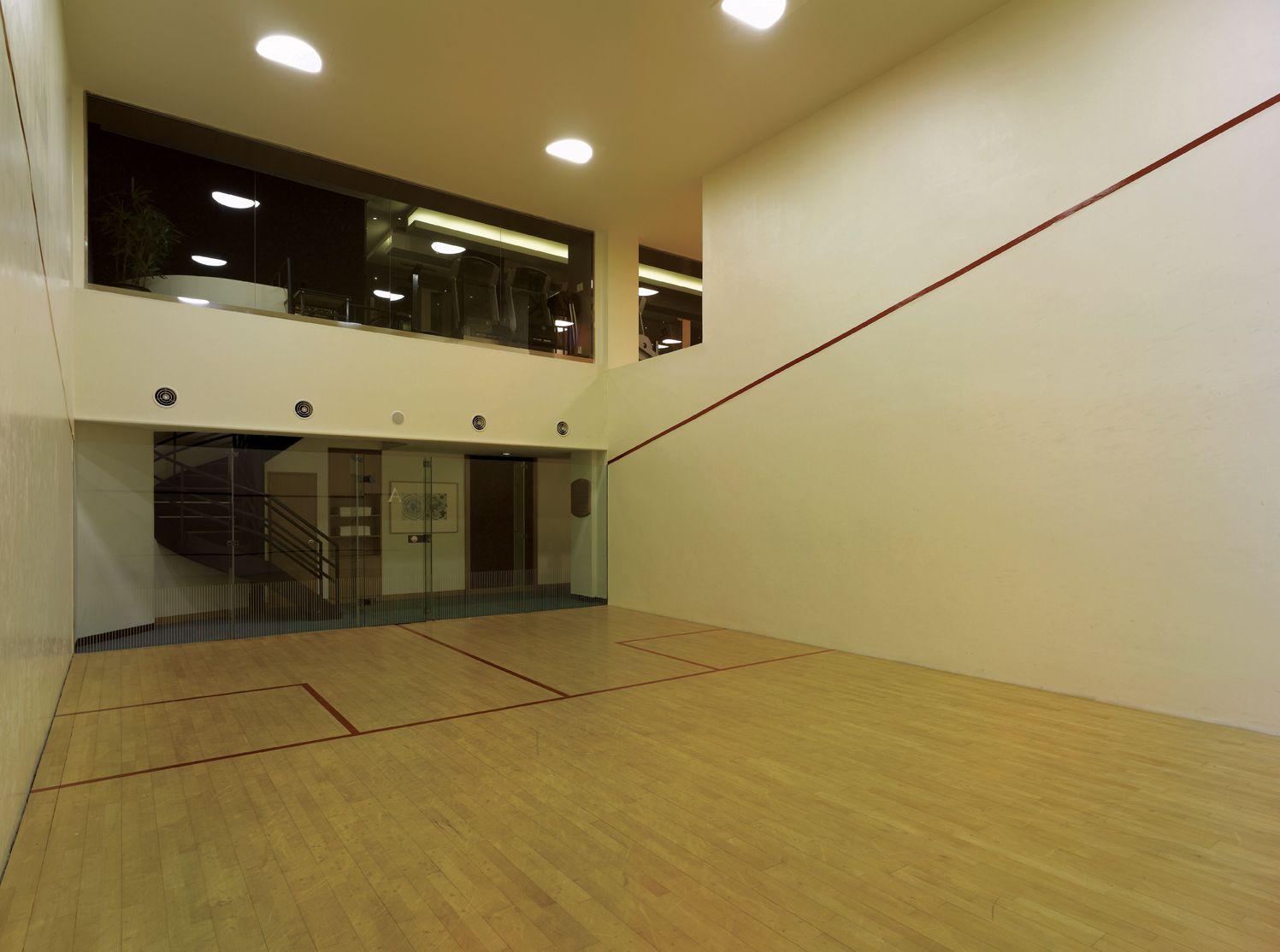Grand Hyatt Seoul Facilities Racquetball Room #grandhyattseoul #grandhyattseoulgym