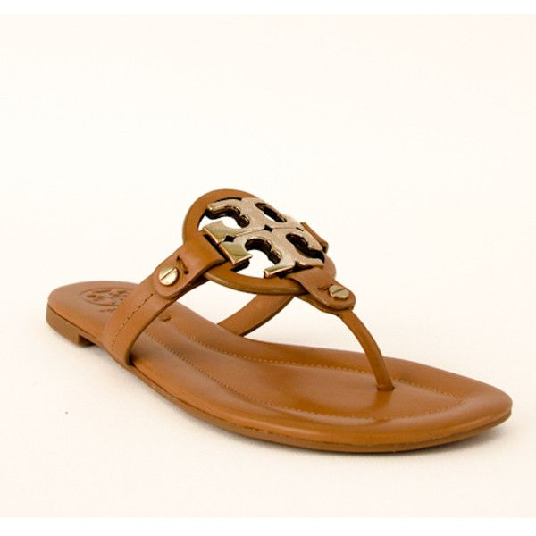 Tory Burch - Miller-2 Sandals Shoes ($225) ❤ liked on Polyvore