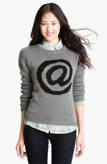 Current Affair Intarsia Sweater available at #Nordstrom