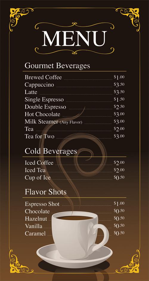 Coffee Shop Menu Ideas Coffee Shop Menu Cardapio De Cafe Cardapio Cafeteria