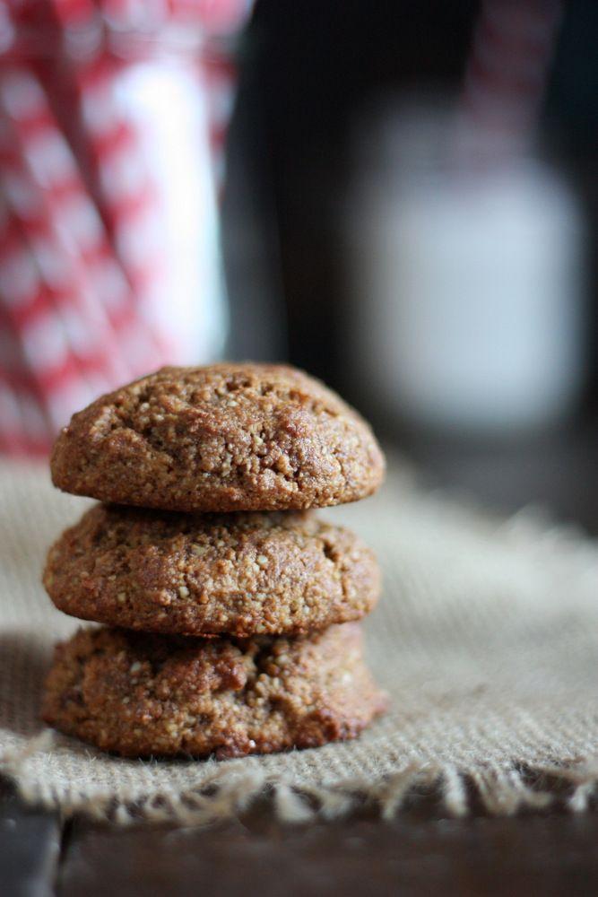 Soft Gingerbread Cookies Recipe (Gluten-Free, Paleo)