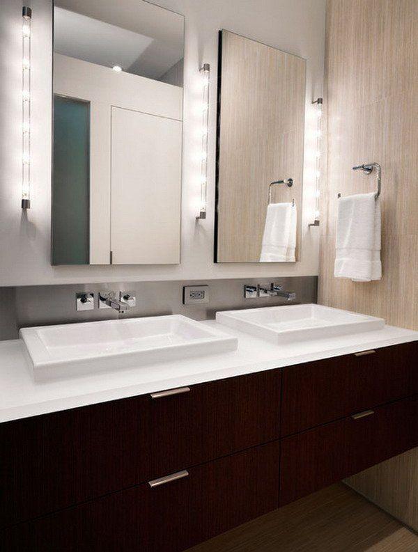 Zeitgenossische Badezimmerspiegel 2018 Bathroom Lighting