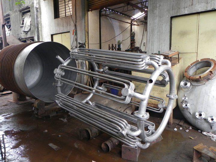 Internal Coil For Heating Or Cooling Hydrogenator Goruntuler Ile