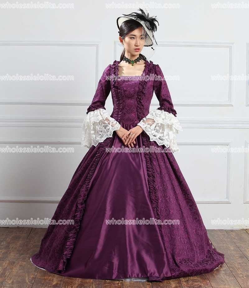 Aliexpress.com : Buy New 18th Century Court   Marie Antoinette Ball Gowns Historical Medieval Period Masquerade Dresses from Reliable 18th century suppliers on RomanticThreads International Trading Co., LTD