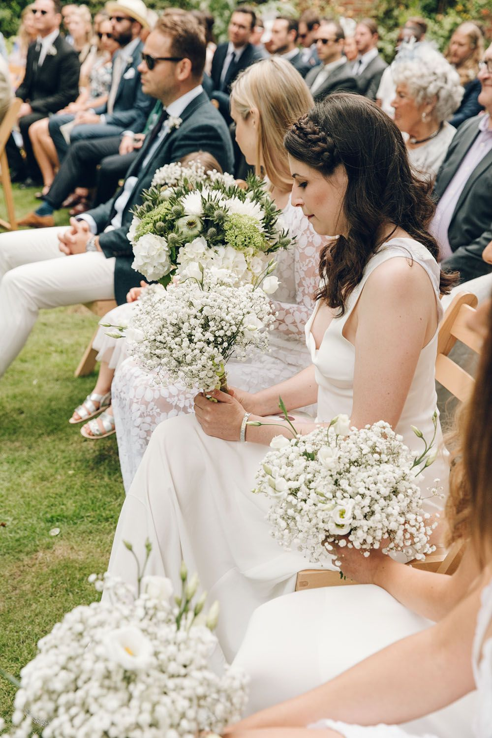 Harriet holling bridal with bridesmaids in all white dress bridesmaids in white by harriet holling bridal harriet holling bridal stretch tent at ombrellifo Images
