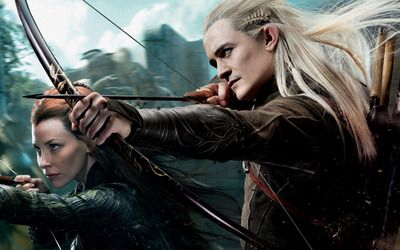 The Hobbit: The Desolation of Smaug Legolas and Tauriel