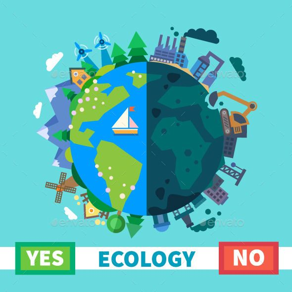 Nature Ecology: Nature And Pollution Ecology
