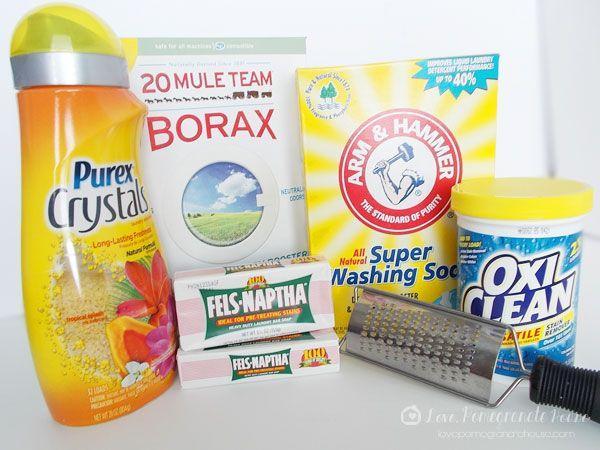 Homemade Laundry Detergent Improved Homemade Laundry Laundry