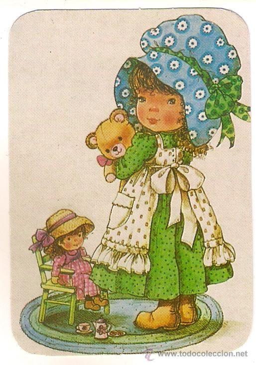 53334 Calendario Dibujo Nina Jugando Con Munec 40679999 Ninos Jugando Holly Hobbie Ilustraciones