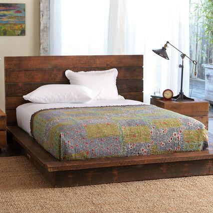 Porch bed.