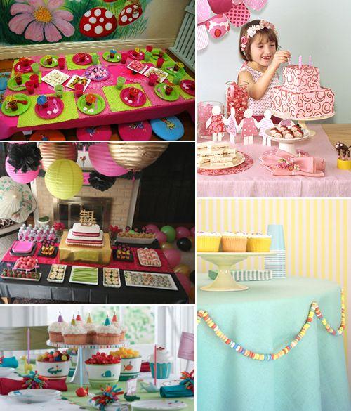 recetas para nios y bebs ideas para decorar la mesa de cumpleaos