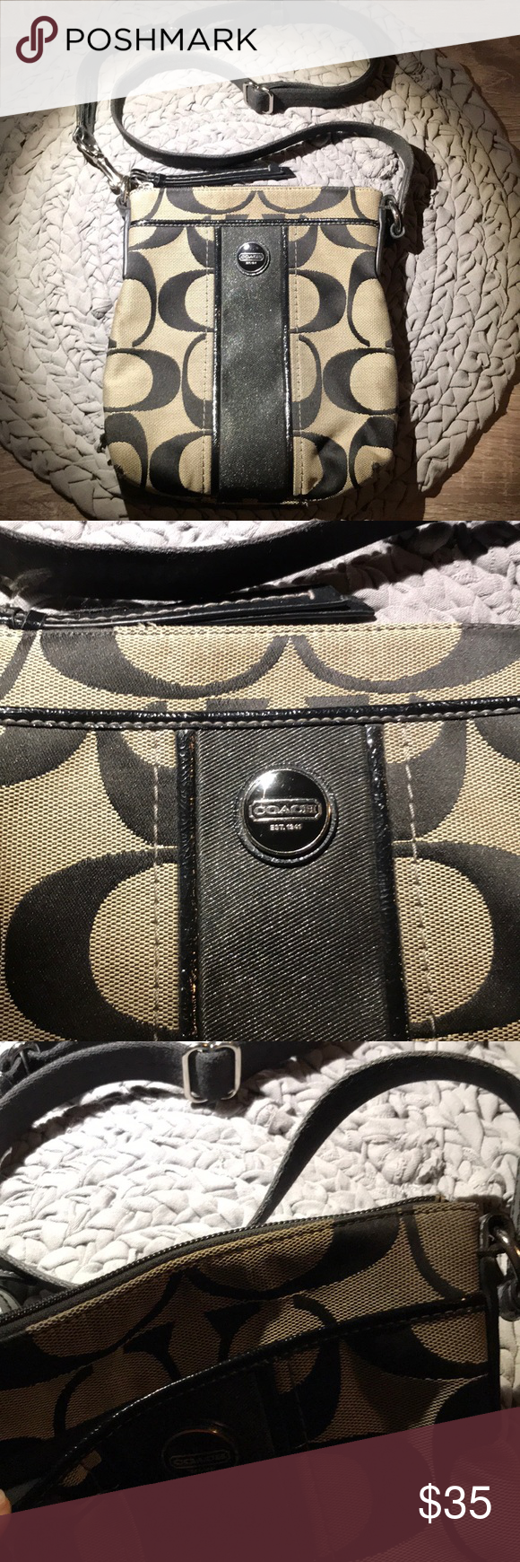 COACH crossbody bag Preloved coach crossbody bag This item