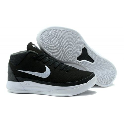 2017 Nike Kobe 13 AD Basketball Shoes For Men Black White