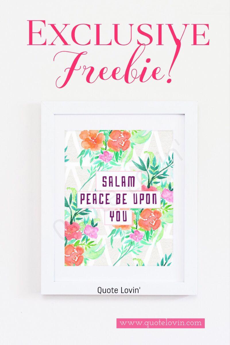 Free Islamic Prints Diy Pinterest Islamic Islamic Gifts And
