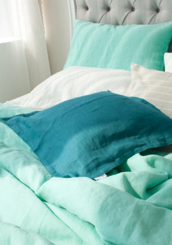 Soft Handmade Linen Bedding | Etsy