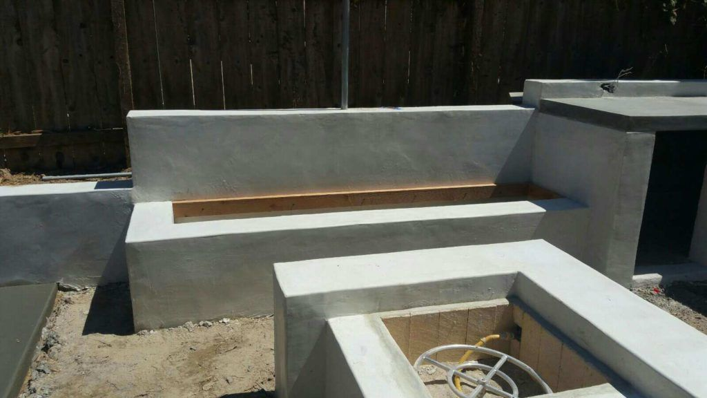 Concrete Patio Construction Retaining Wall Blocks Block Wall Retaining Wall