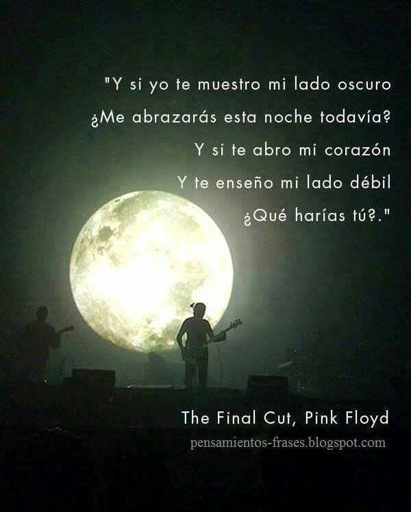 Pink Floyd Frases De Canciones Pinterest Pink Floyd Frases