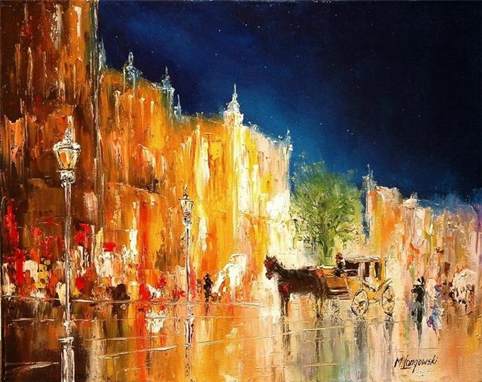 Marek Langowski ~ The dance of light in Venice | Impressionist and ...
