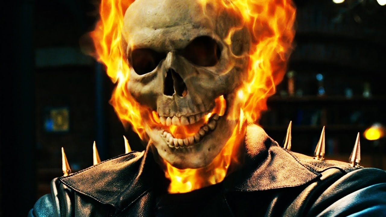 Ghost Rider vs Blackheart Apartment Fight Scene   Ghost