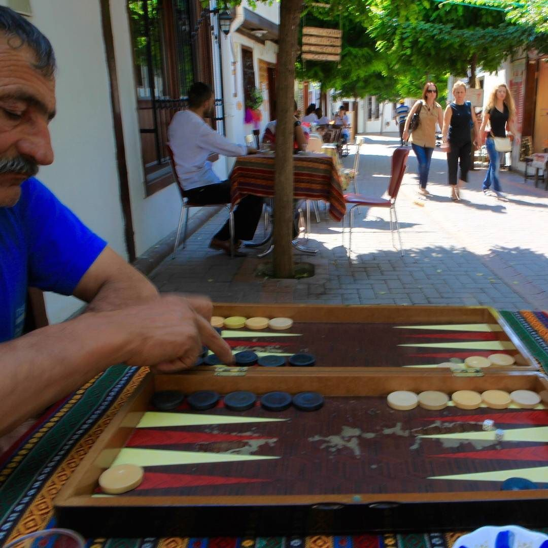 Are you ready for a backgammon game? #Travel # #Turkey #SerifYenen