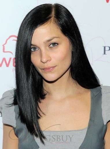 Soft Custom Leigh Lezark Hairstyle 16 Inches 100 Human Hair Silk