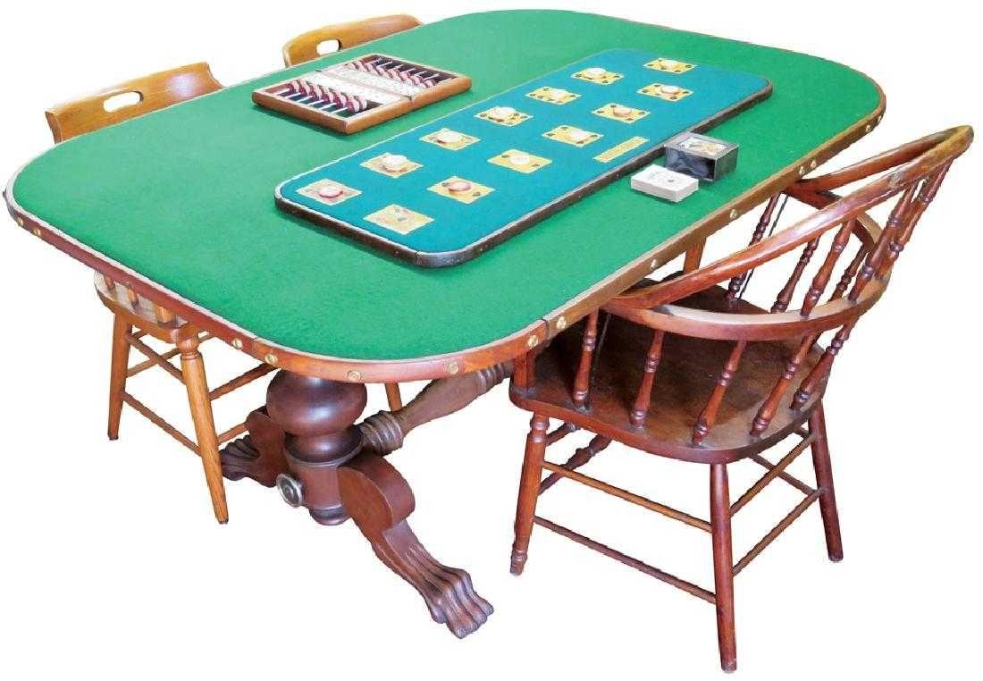 Complete faro card game setup keeper
