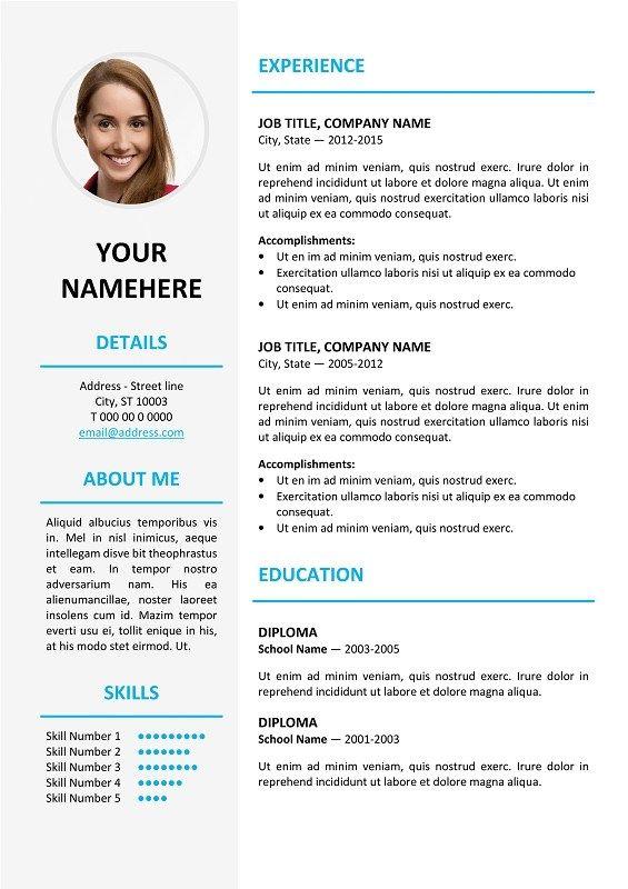 Format Of German Tabular Cv Question Preplounge Free Resume Template Word Resume Design Template Free Resume Design Template
