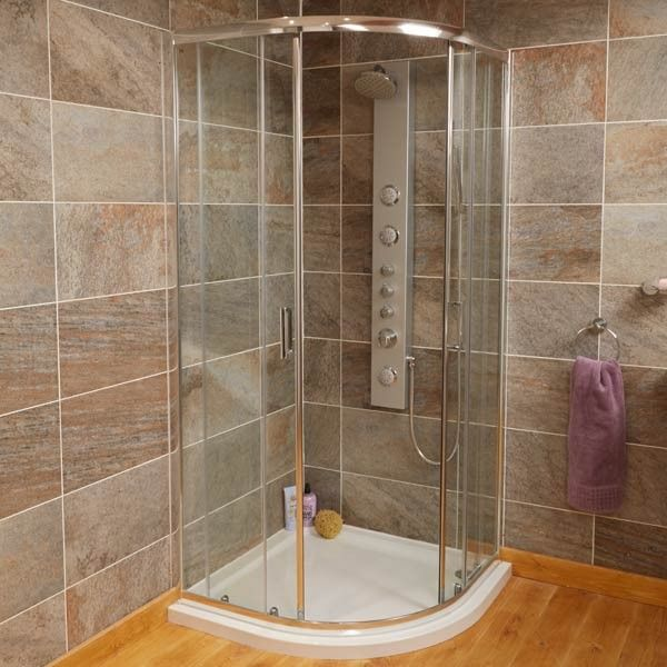 Aqualine 1000 Quadrant Shower Enclosure Bathroom Quadrant Shower Enclosures Quadrant Shower Shower Enclosure