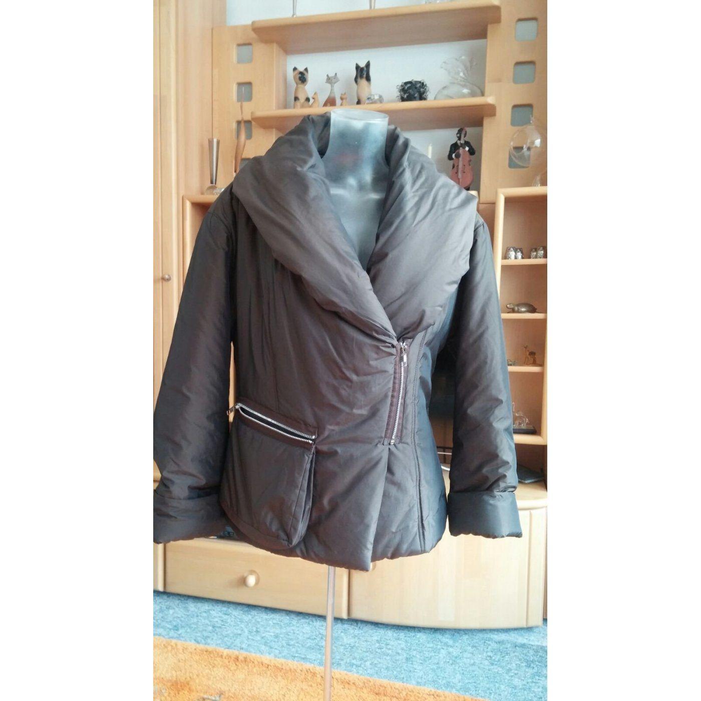 Damen Jacke warm und leicht mit hohem groß Schallkragen Gr.3