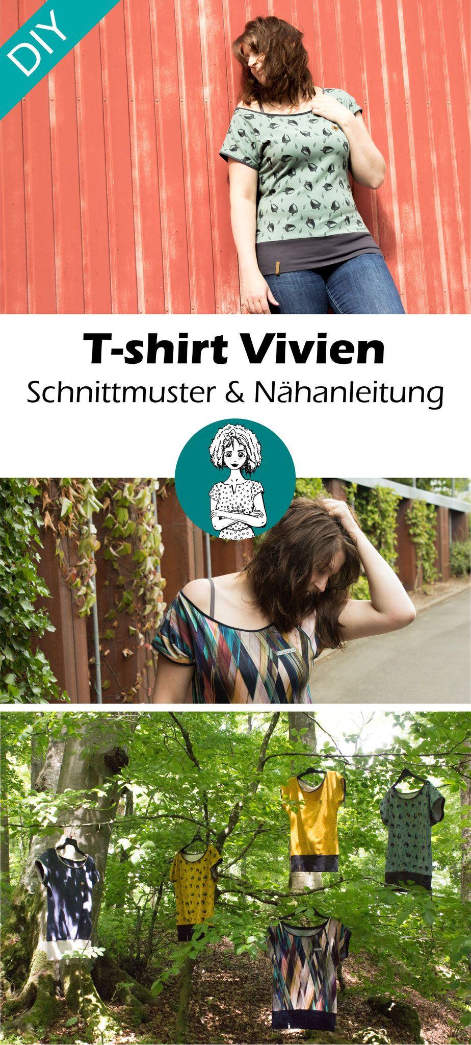 Schnittmuster T-shirt \